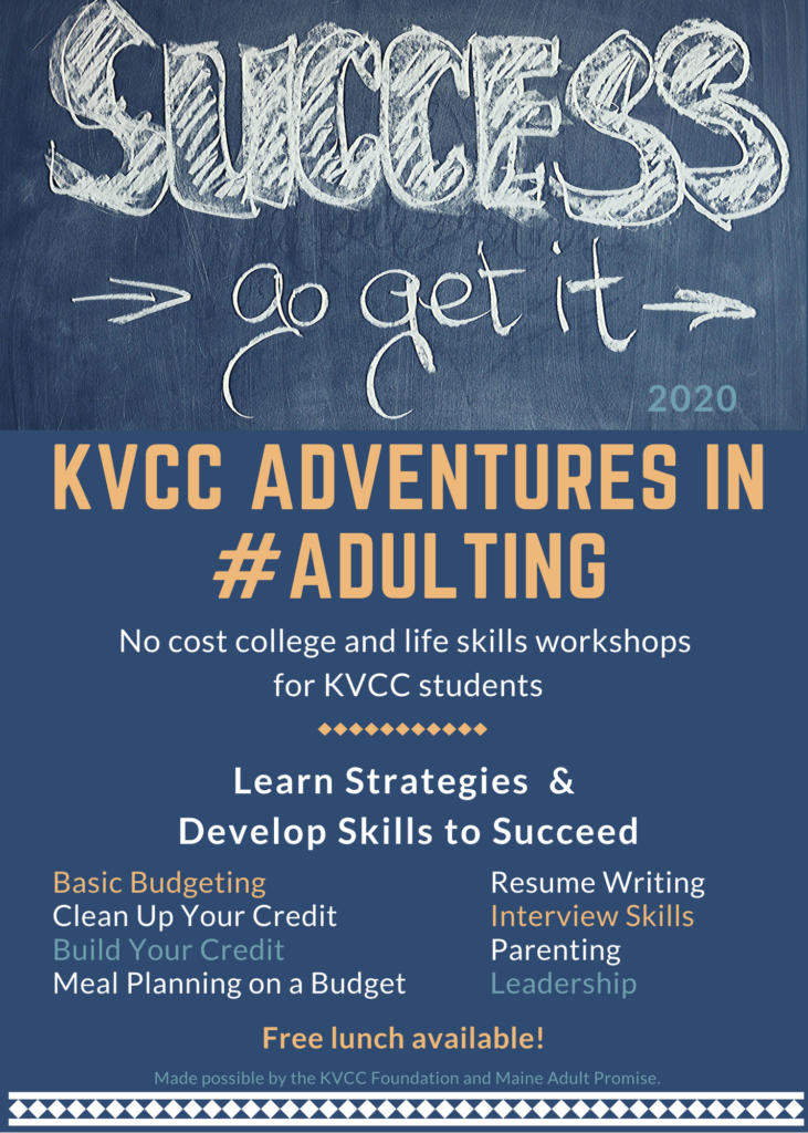 KVCC Foundation Winter 2020 Workshops